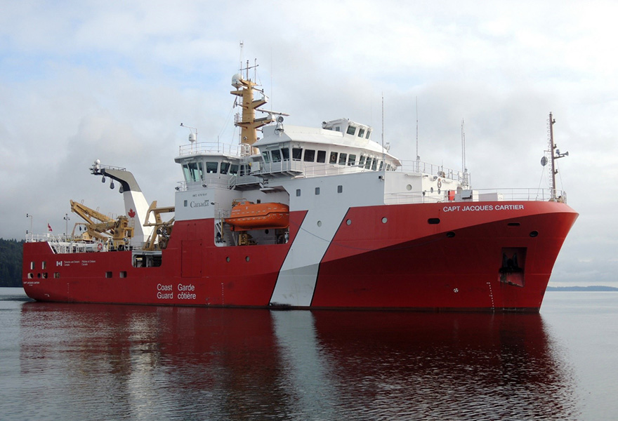 Canadian Coast Guard S Offshore Fisheries Science Vessels