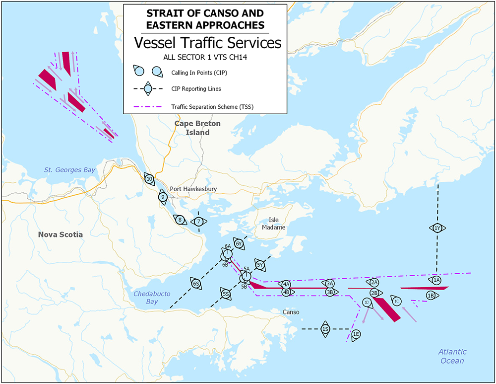 Vessel Traffic Services - Strait of Canso
