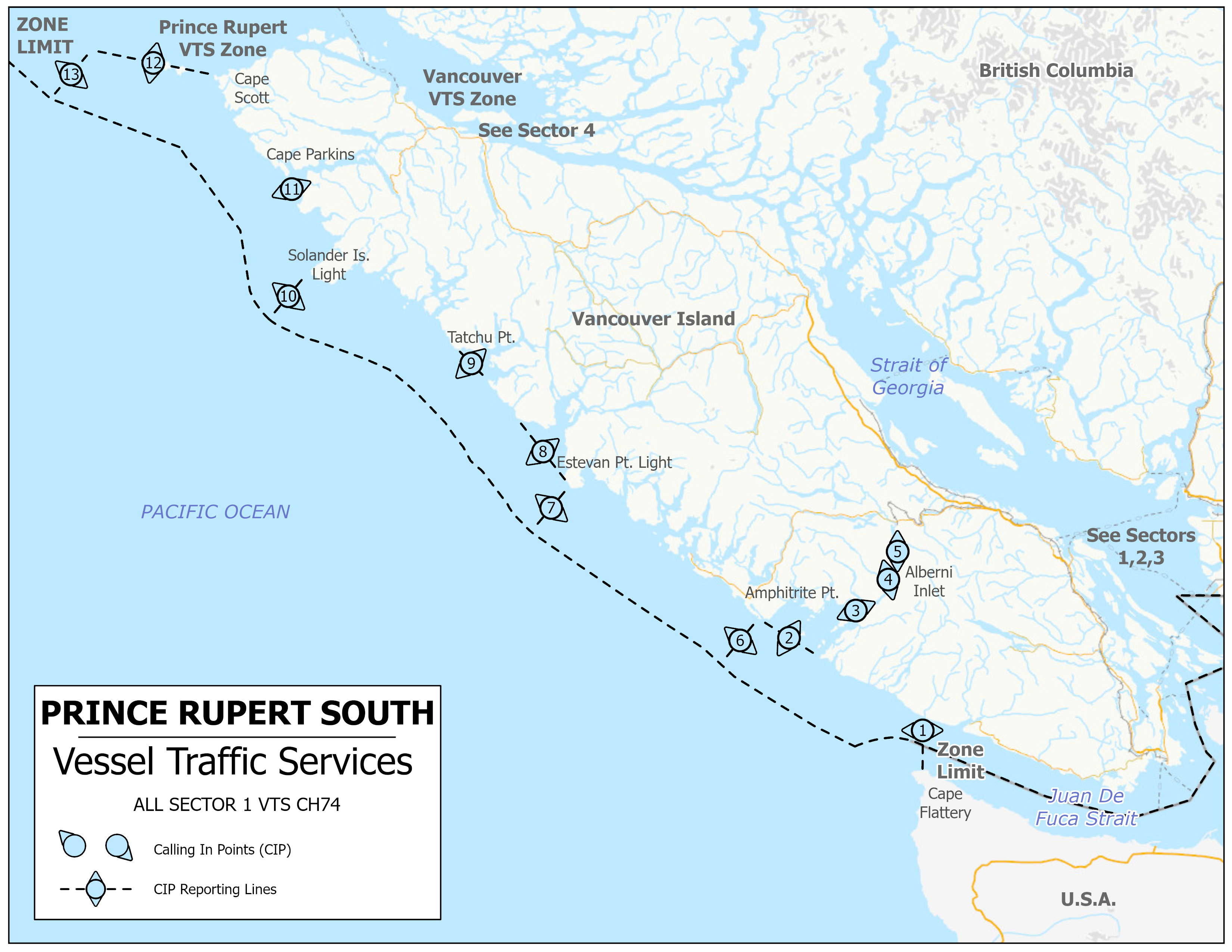 Tofino - Vessel Traffic Services