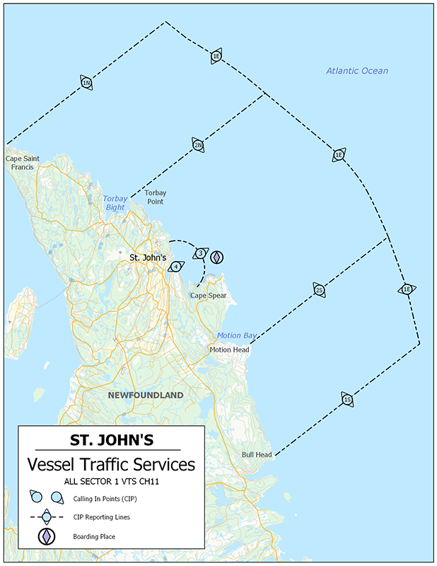 Vessel Traffic Services - St. John's